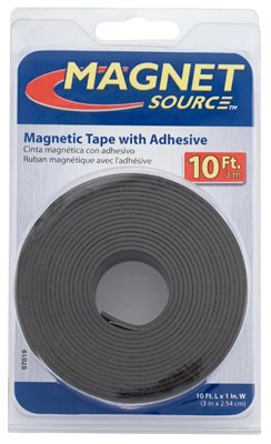 Master Magnetics 07019 1 Roll Flexible Magnetic Tape - Quantity 6
