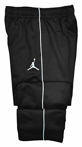 Jordan Big Boys (8-20) Therma-Fit Jumpman Track Pants-Black/White-Large