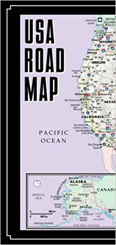 Streetwise USA Road Map Laminated Major Highway Map of the