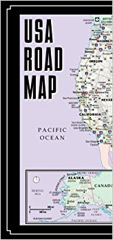 Streetwise USA Road Map Laminated Major Highway Map Of The - Laminated folding us map