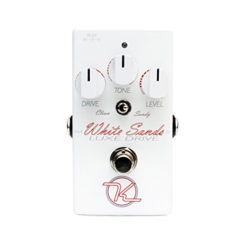 Keeley KWSLD White Sands Luxe Drive Distortion Effects Pedal