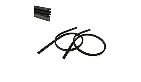 INION® Set - 2 x 750 mm de largo para limpiaparabrisas escobilla de goma goma ajuste perfecto para Bosch Aerotwin Limpiaparabrisas + 2 x Unidades Lámpara 12 ...