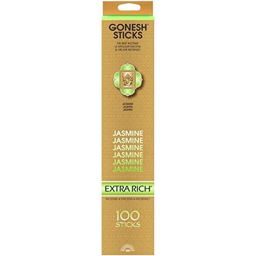 China Jasmine Perfume Oil - Gonesh Jasmine - 100 Stick Pack - Classic Incense,