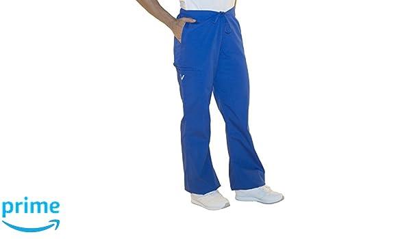 56041c0f3b2 Amazon.com: myGuardian with Vestex Protection 506_RB_M-L Women's Flare Leg  Scrub Pants, 32