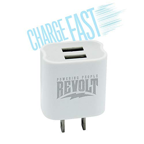 Revolt USB Wall Charger 2 USB Ports