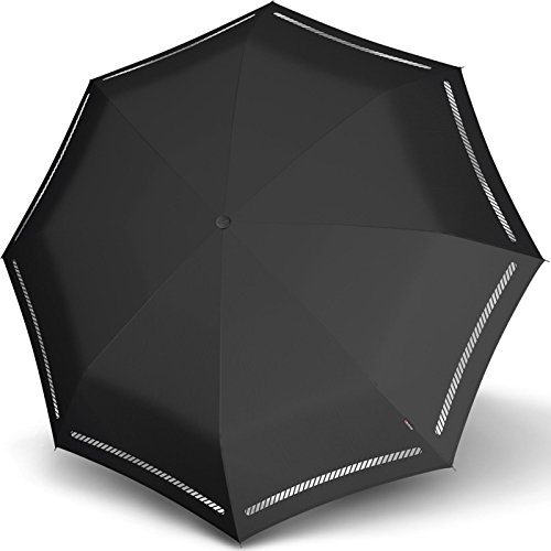 Knirps T.200 Medium Duomatic Reflective Black