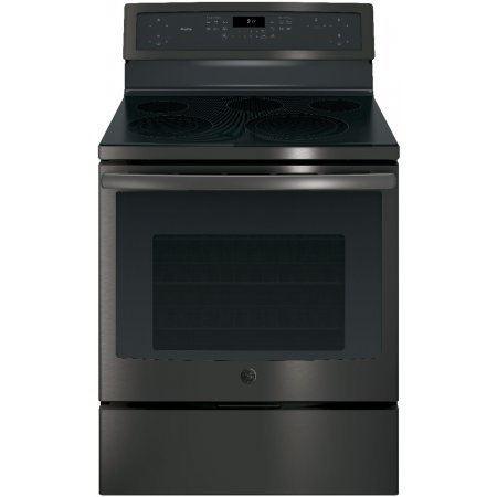 GE Profile PB911BJTS 30 Inch Freestanding Electric Range with 5 Elements, Smoothtop Cooktop, 5.3 cu. ft. Primary Oven Capacity in Stainless Steel ()