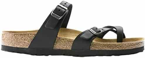 Birkenstock Womens Mayari Strappy Oiled Leather Fashion Summer Sandals