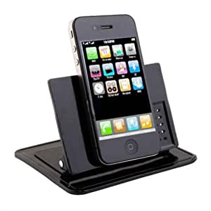 Selna Rotating Dash Smart Stand Car Mount Dashboard Holder with Sticky Mats for T-Mobile Samsung Galaxy S3 SGH-T999 / Galaxy S4 SGH-M919 / Galaxy S5 (SM-G900T) - T-Mobile Samsung Galaxy Note / Note 2 SGH-T889 / Note 3 (SM-N900T)