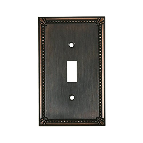 "OQO Traditional Style 1 Toggle Entry Switch Plate, 4.97"",..."