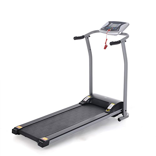 TelDen Foldable Exercise Electrical Treadmill at Home Wide Mini Portable Incline Motorized