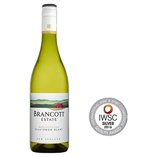 Brancott Estate Marlborough Sauvignon Blanc, New Zealand Crispy, Fruity and Sweet White Wine, 75 cl, Case of 6