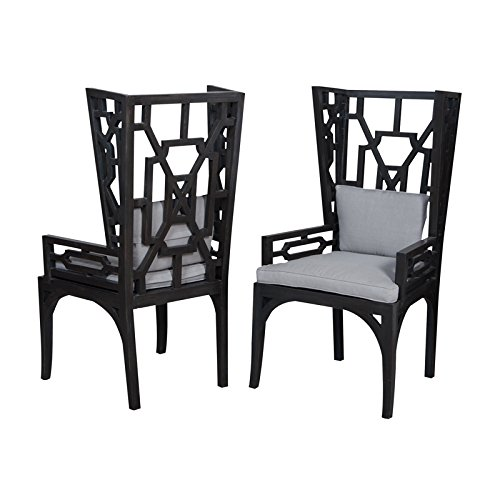 Manhattan Collection Manor Wing Chairs - Set of (Manor Chair)