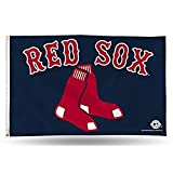 MLB Boston Red Sox 3-Foot by 5-Foot Banner Flag