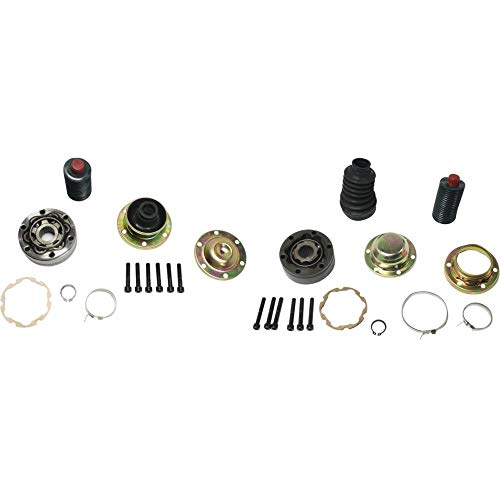 Driveshaft CV Joint Set for 2002 Jeep Grand Cherokee Front Frontward and Rearward (2004 Jeep Grand Cherokee Rocky Mountain Edition)