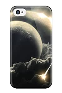 New Cute Funny Asteroids Falling Outer Planets Case Cover/ Iphone 4/4s Case Cover