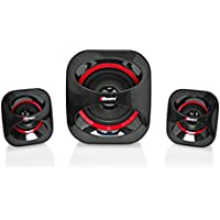 2BOOM USB Powered, Stylish multimedia speakers with Surround Sound Experience Black
