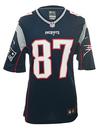 Nike New England Patriots Rob Gronkowski Jersey – Navy – DiZiSports Store