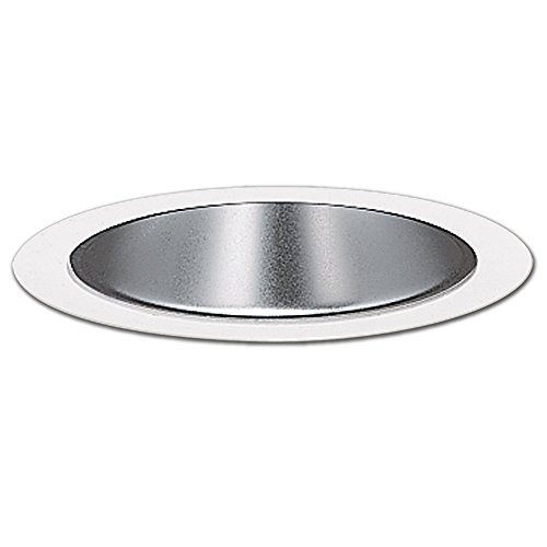 Halo Recessed 1421C 4-Inch Trim Clear Specular Reflector, White
