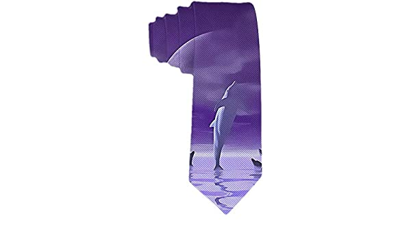 La corbata de los hombres Los delfines saltan del mar La corbata ...