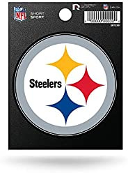 NFL Pittsburgh Steelers Die Cut Team Logo Short Sport Sticker
