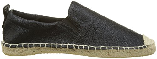 Superdry Crackle Espadrille Nero Espadrillas Donna black Liora TTYqrw4
