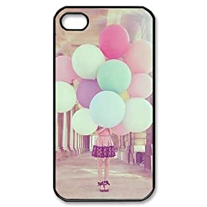 Balloons ZLB810364 DIY Case for Iphone 4,4S, Iphone 4,4S Case