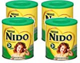 Nestle NIDO 3+ Powdered Milk Beverage 1.76 lb Canister (Pack of 4)