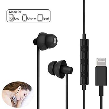 Amazon Com Lighting Headphones Maxrock Sleep Earbuds With