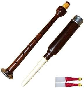 AAR Rosewood Practice Chanter with 2 Free Reeds