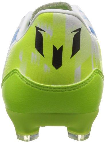 adidas Performance - Botas de fútbol para hombre weiß / lime / blau - weiß / lime / blau