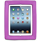 Big Grips Frame for iPad 2, iPad 3, iPad 4 - Purple