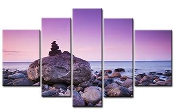 Xxl Leinwandbilder Gunstig ~ Top xxl bild auf leinwand lila stones bilder teile art nr