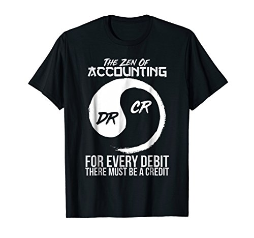 The Zen Of Accounting T-shirt