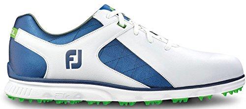 FootJoy Pro SL Golf Shoes 53584 White/Blue - 11 MEDIUM