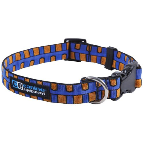 Canine Equipment Ultimate 1-Inch Utility Dog Clip Collar, X-Large, Piano Keys