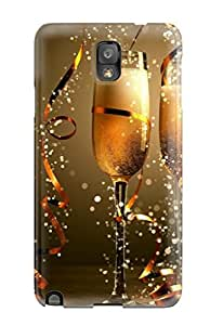 Best Tpu Fashionable Design Celebration Time ! Rugged Case Cover For Galaxy Note 3 New 7877730K29114330