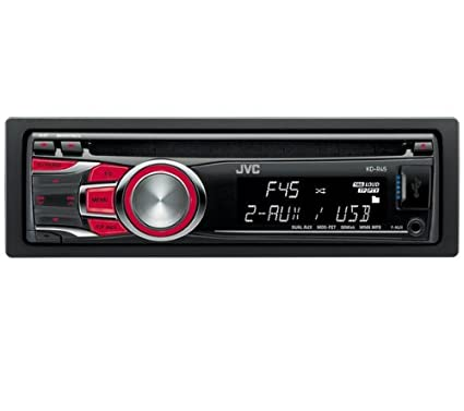 Amazon.com: Jvc Jvc Kd-R45 Car Stereo (Bluetooth, Front + ...