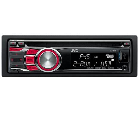 Amazon.com: Jvc Jvc Kd-R45 Car Stereo (Bluetooth, Front + ...