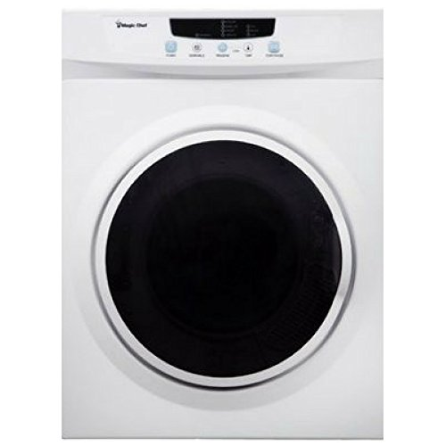 Magic Chef MCSDRY35W 3.5 cu ft Compact Electric Dryer, White