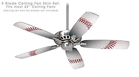 Amazon.com: Béisbol – Kit ventilador de techo Piel se adapta ...