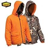 yukon gear jacket - Yukon Gear Men's Reversible Insulated Jacket(Mossy Oak Infinity/Orange, X-Large)