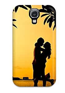 Hot Design Premium ISaqgNM5283flEkC Tpu Case Cover Galaxy S4 Protection Case(romantic Hug)