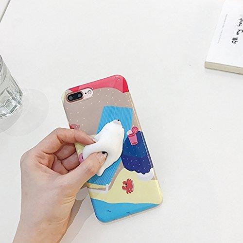 Mobiltelefonhülle - Für iPhone 7 Plus Seal Bask in der Sonne Schutzmaßnahmen zurück Fall Fall