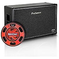 Palmer &apos guitarras Box 2x 12con Eminence Governor