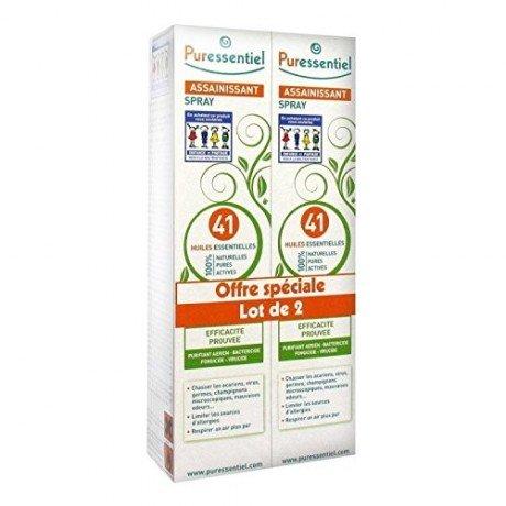 Puressentiel Purifying Air Spray with 41 Essential Oils 2 x 200ml