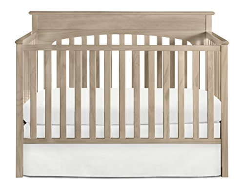 Graco Lauren 4 in 1 Convertible Crib, (Graco Wood)