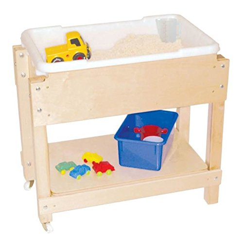 (Wood Designs WD11811 Petite Sand and Water Table with Lid/Shelf, 24 x 28 x 15