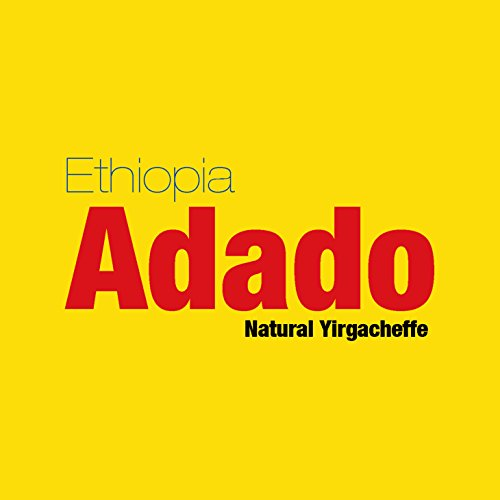 Ethiopia Natural Yirgacheffe Adado Shara - Light Medium Roast Fruity Sweet - 1 Pound Bag - All Brewing - Aether Coffee Roastery Specialty Single Origin Whole Bean Coffee