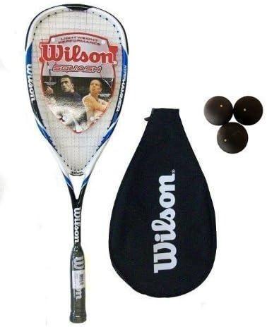 Amazon.com: Wilson Hyper Hammer Carbon 120 azul raqueta de ...